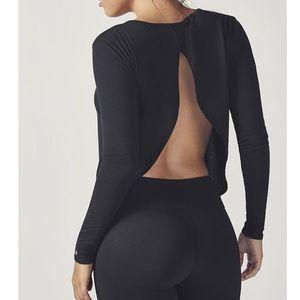 Fabletics Millie Open Back Long Sleeve Shirt